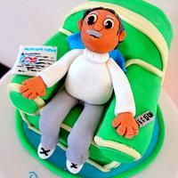 Grandad's Chair Cake