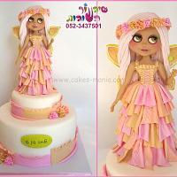 fairy blythe doll and  cake