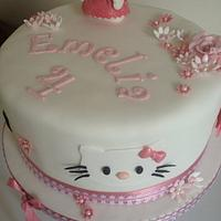 Hello kitty Cake by Gill Earle
