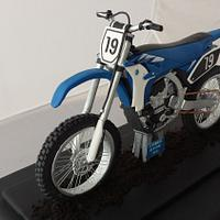 Yamaha motor cross bike