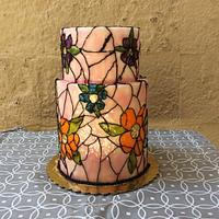 Buttercream Stained Glass by Fancy A Treat