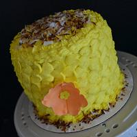 Mother's Day Pina Colada Cake