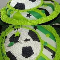 Soccer Theme Cake!