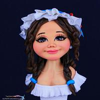 VIOLET - SUGAR BUST DOLL