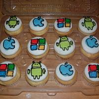Computer Themed Cupcakes by Jennifer C.