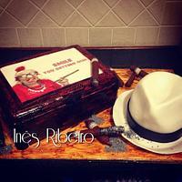 Cigar Box and a Cuban Hat