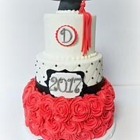 Cape Hatteras Graduation Cake