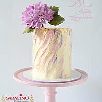 Inspired cream cake