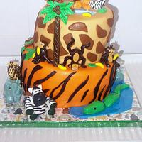 Grandson's Jungle Cake