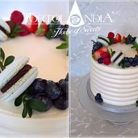 Creame drip cake