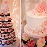 Pretty In Pink Cupcake Tower