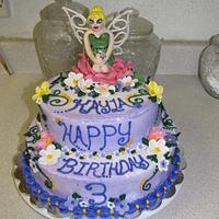 TinkerBell Cake for Kayla by Yvonne Hutchens