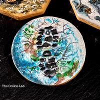 Black Devastation!   (Awareness on Oil Spill- Earth Day Collaboration) by The Cookie Lab  by Marta Torres