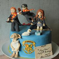 Harry Potter inspired cake