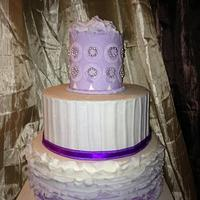 Ruffle Cake by Millie