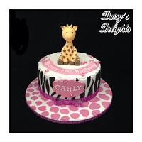 Giraffe birthday