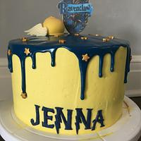 Ravenclaw cake and cakepops