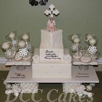 Communion Cake & Cookies