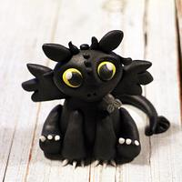 Toothless with Step by Step!!