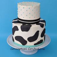 Milk themed Baby Shower