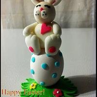 Easter Bunny Cupcake Topper