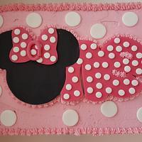 1st Birthday Mini Mouse Cake