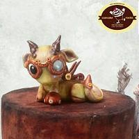 Steampunk Baby Dragon