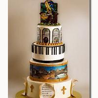 Church rededication cake