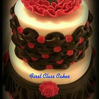 Classy Chic Cake by First Class Cakes