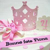 Bonne Fete Fiona! by Cynthia Jones