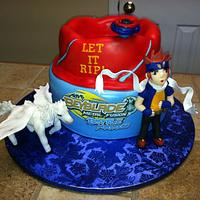 My son's birthday cake