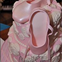 A Ballerina Birthday Cake