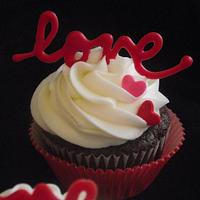 Valentine's Day Cupcake!