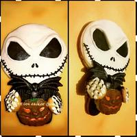 Cookie 3D Jack Skellington