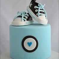 Converse Gym Boot Cake