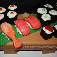"""""""Sushi"""" Cake"""