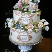 Cake for 50 anniversary
