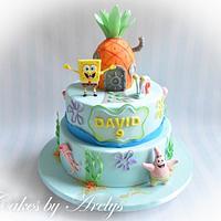SpongebBob cake