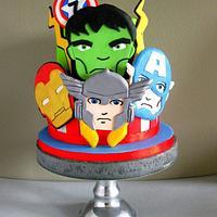 Avengers super heroes
