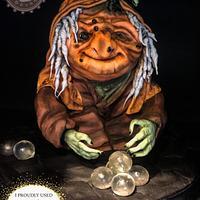 Pumpkin witch - sugar witches collab by MellisTortenzauber