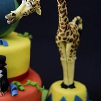 Madagascar 3 - The party by Caramel's Cake di Maria Grazia Tomaselli
