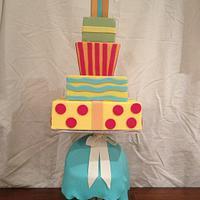 Bridal Shower cake by Dell Khalil
