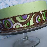 side details on two different cakes