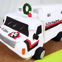 St John Ambulance 3D cake