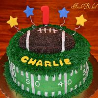 Football First Birthday
