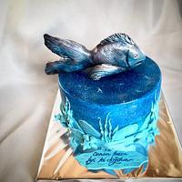 Galaxy balık pasta