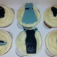 Fashion Cupcakes for a lady