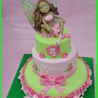 aisha winx cake + video-tutorial fondant pasta di zucchero torta