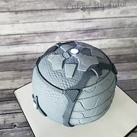 Rocket league Cake by Cakes By Julie