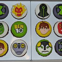 ben10 alien cupcakes